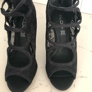 Aldo Shoes - Aldo high heeled shoe. Never worn.